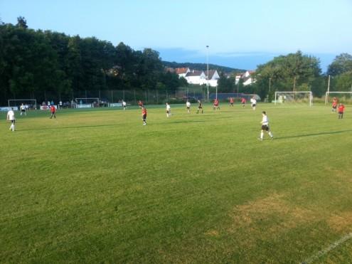 Kreispokal gegen SG Soonwald